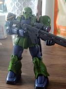 USA Gundam Store HGUC 1/144 MS-05 Zaku I THE ORIGIN [Denim / Slender Unit] Review