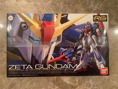 USA Gundam Store RG 1/144 #10 Zeta Gundam Review