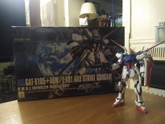 USA Gundam Store HGCE 1/144 Aile Strike Gundam Review