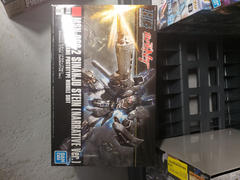 USA Gundam Store HGUC 1/144 SINANJU STEIN (NARRATIVE Ver.) Review