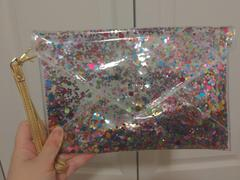 Packed Party CONVERTIBLE CONFETTI ENVELOPE CLUTCH Review
