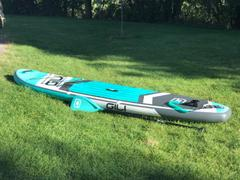 GILI Sports GILI 10'6 AIR Inflatable Stand Up Paddle Board (SUP) Package Review