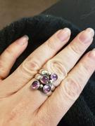 Kitty Stoykovich Designs Graduated Sizes Birthstones Fairy Tale Ring in Silver Review