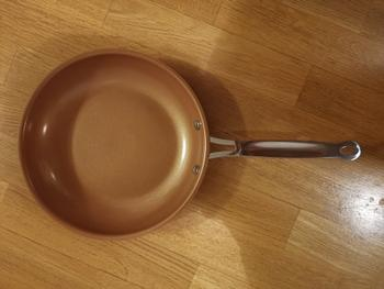 Kitchen Groups Non-Stick Copper Frying Pan With Ceramic Coating Review