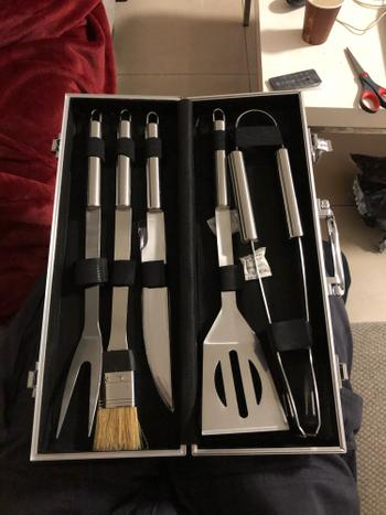 Kitchen Groups Stainless Steel BBQ Tools Set Review