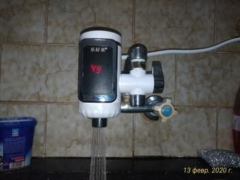 Kitchen Groups Water Heater Water Tap with Adapter Review