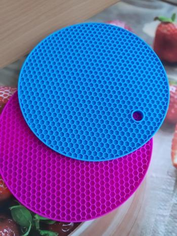 Kitchen Groups Round Heat Resistant Silicone Mat Review