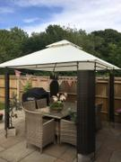 Gazebo Spare Parts CLEARANCE - Canopy for 3m x 3m Patio Gazebo - Two Tier Review