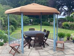 Gazebo Spare Parts Canopy for 3.3m Hexagonal Patio Gazebo - Single Tier Review