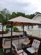 Gazebo Spare Parts Canopy for 2.4m x 2.4m Patio Gazebo - Single Tier Review