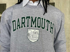 ShopCollegeWear.com Dartmouth University Big Green Men's Crew-Neck Sweatshirt-Gray Review
