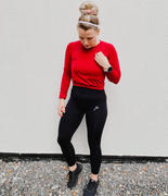 Famme Black Ocean Crop Long Sleeve Review