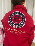 Holland Cooper Team Jacket (Vermillion Red) Review