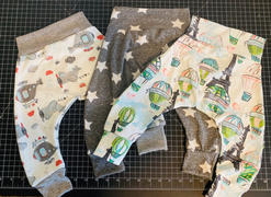 So Sew English Take Flight -French Terry- By the yard (Helicopter & Airplane) Review