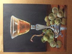 Ann Kullberg Mark Menendez: Fruit of the Vine Colored Pencil and Mixed Media Tutorial Review