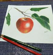 Ann Kullberg Jumpstart Level 1: Summer Apple in Colored Pencil Review