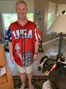Proud Patriots Red Trump #45 Baseball Jersey Review