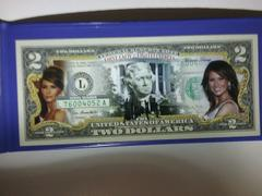 Proud Patriots Melania Trump - First Lady - Genuine Legal Tender U.S. $2 Bill Review