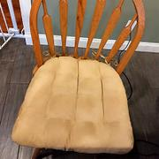 Barnett Home Decor Micro-Suede Camel Dining Chair Pads - Latex Foam Fill - Solid Color Microfiber Ultra-Suede Review