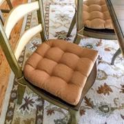 Barnett Home Decor Hayden Copper Dining Chair Pads - Latex Foam Fill - Reversible Review