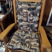 Barnett Home Decor Woodlands Peters Cabin Rocking Chair Cushions  - Latex Foam Review