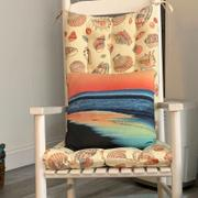 Barnett Home Decor Shells at Low Tide Rocking Chair Cushions - Latex Foam Review