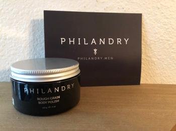 PHILANDRY Rough Grain Body Polish Natural Exfoliant Review