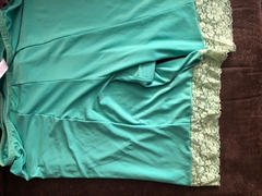 Undersummers by CarrieRae Fusion Shortlette Anti Chafing Slipshort (Mint) 7 Length Final Sale Clearance Review