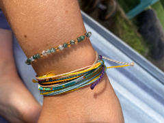 Manipura Malas Green Agate Adjustable Gemstone Bracelet Review