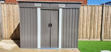 Forestwest Garden Shed Tool Storage 1.94*1.21*1.82m Review