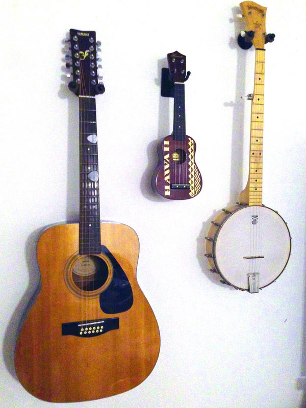 Wall Mount Ukulele Or Mandolin Hanger Cc11uk