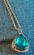 Beachware.co Blue Ocean Gemstone Necklace Review