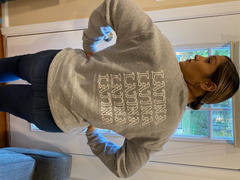 Hija de tu Madre Grey Latina Crewneck Sweatshirt Review