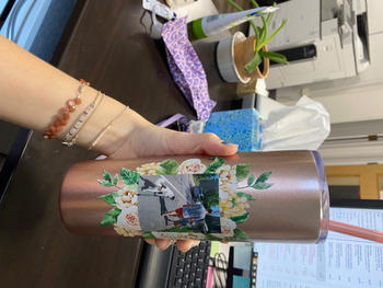 Simple & Sentimental Custom Photo Tall Tumbler Review