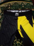 ONE.SHOP ONE Black and Yellow Men's Vale Tudo Shorts Review