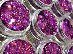 Lrisy General Mixed Holographic Purple Glitter Hexagon Shaped LB0800 Review