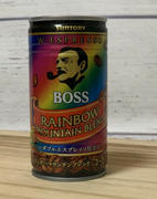 Sugoi Mart Boss Rainbow Canned Coffee Review