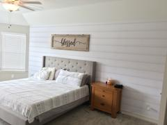 WALL BLUSH Anniston - Shiplap peel and stick wallpaper Review