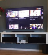 Meble Furniture Bari 200 Wall Mounted Floating Modern 79 TV Stand Review