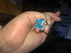 NatureJewelry.co Blue Opal Butterfly Necklace Review
