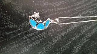 NatureJewelry.co Australian Opal Moon Star Necklace Review