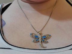 NatureJewelry.co Australian Opal Dragonfly Necklace Review