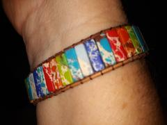 Brandywine Boutique Rainbow Natural Healing Stone Bracelet Review
