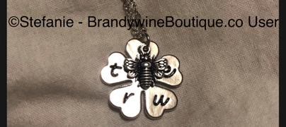 Brandywine Boutique Bee True Clover Necklace Review