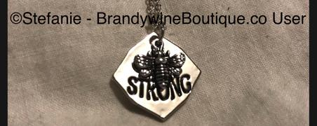 Brandywine Boutique Bee Strong Necklace Review