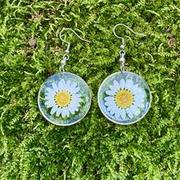 NatureJewelry.co Pressed Daisy Flower Earrings Review