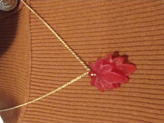 Brandywine Boutique Deep Fall Double Leaf Necklace Review