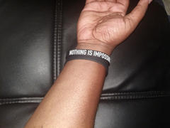Elite Athletic Gear NOTHING IS IMPOSSIBLE Wristband Review
