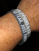 Elite Athletic Gear NO FEAR, JUST FAITH Wristband Review
