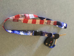 Elite Athletic Gear Old Glory Lanyard Review